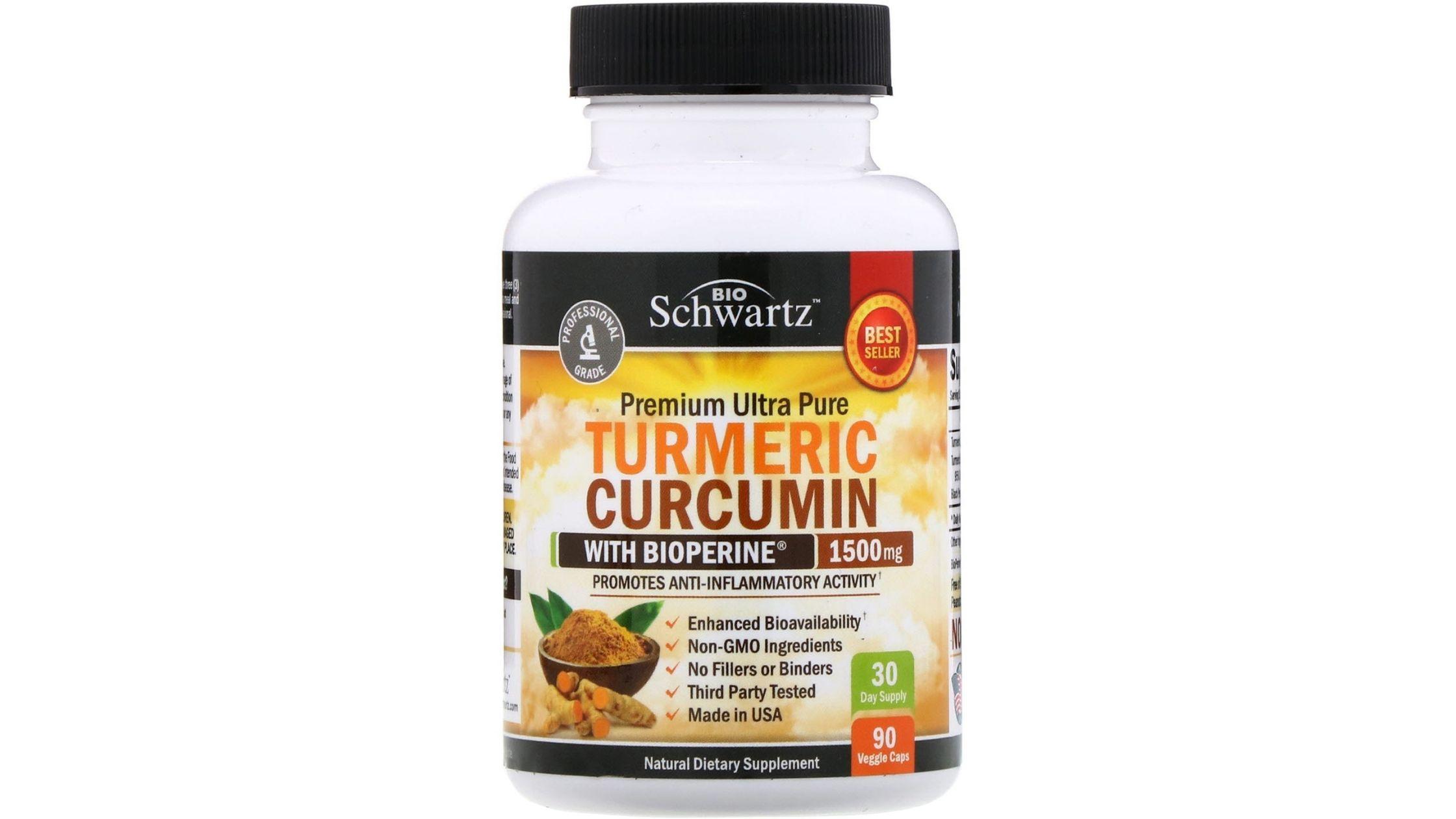 BioSchwartz turmeric curcumin with Bioperine