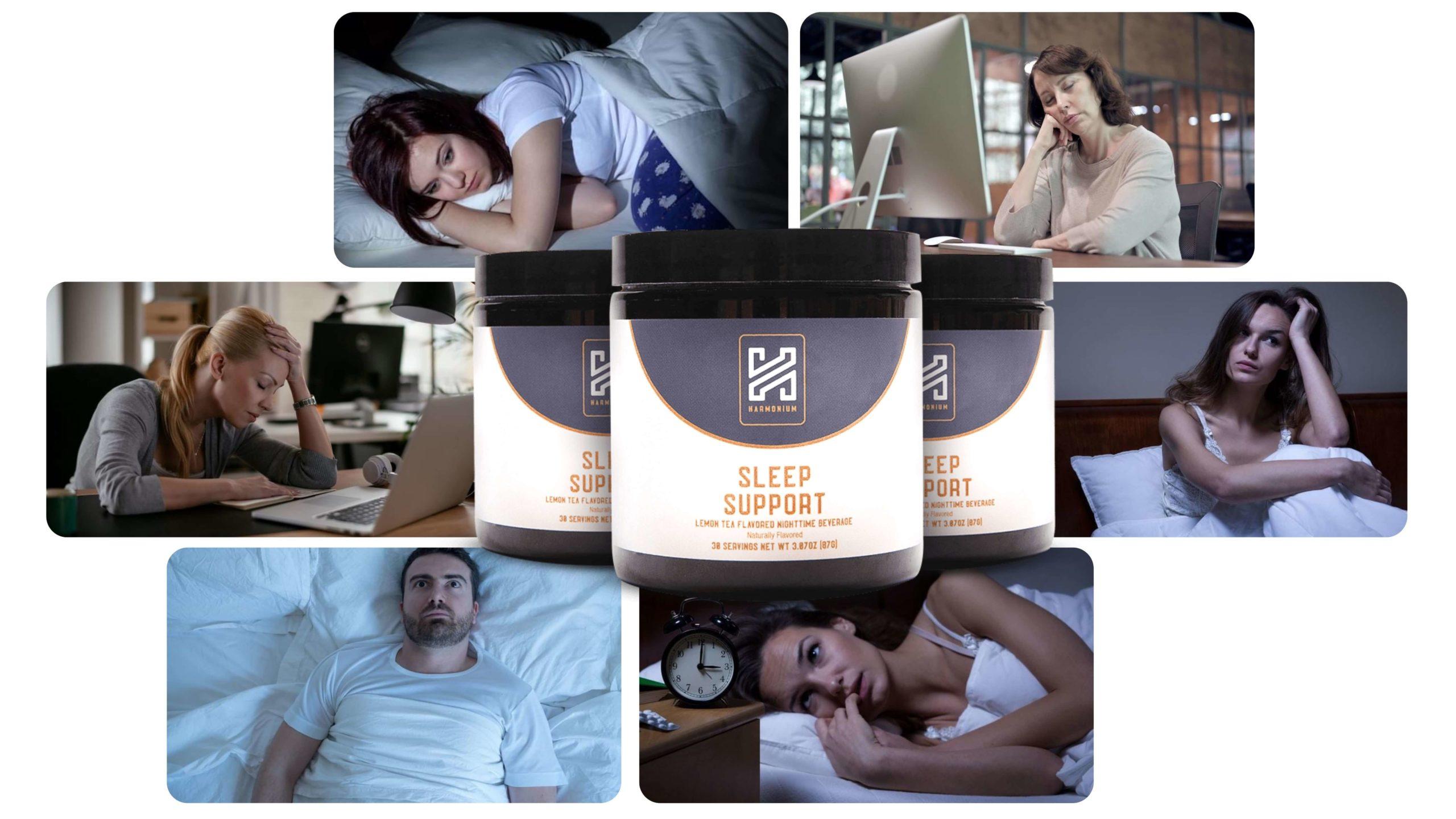 Harmonium Sleep Support working